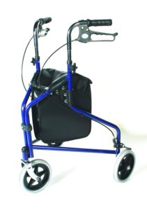 Days 3 Wheel Walker with Loop Lockable Brakes