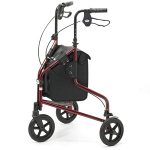 Days Lightweight Aluminium Folding 3 Wheeled Walker