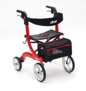 Drive De Vilbiss Healthcare 4 Wheeled Rollator