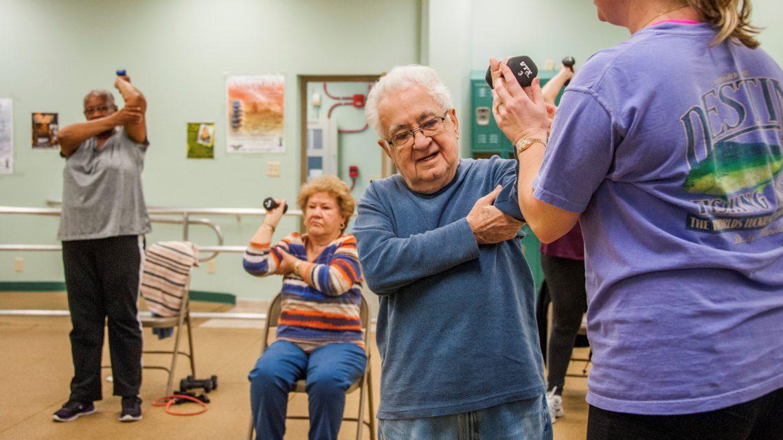 Chair Exercises For The Elderly Elderly Falls Prevention