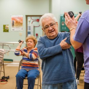 chair exercises for the elderly