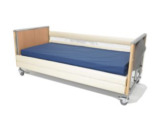 NRS Healthcare Bumpers for Wooden Bed Rails