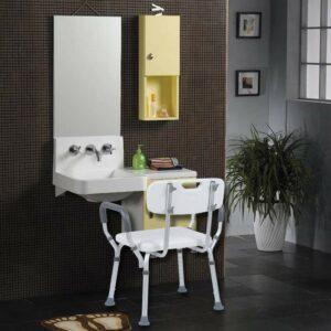 Homgrace Aluminum Alloy Medical Shower Seat