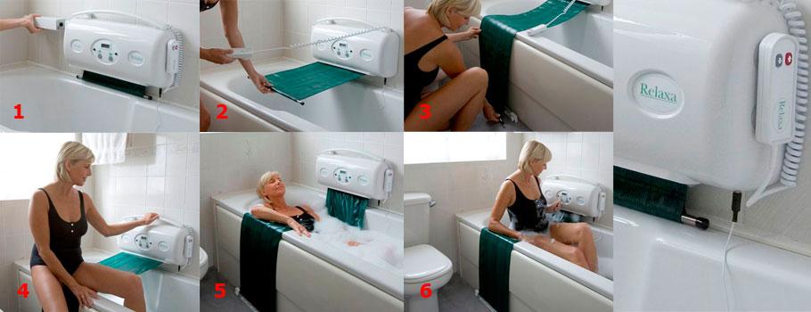 Relaxa Belt Bath Lift