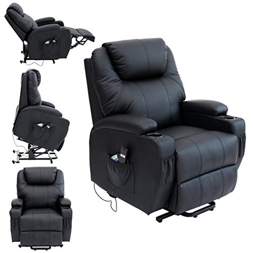Cinemo Electric Leather Riser Recliner Chair
