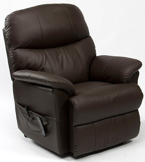 Lars Dual Motor Leather Riser Recliner Chair