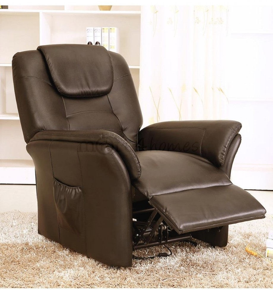 Windsor Electric Leather Riser Recliner Chair