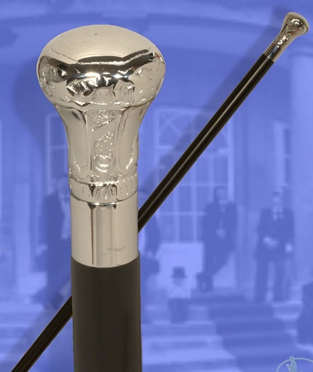 Classic Canes Chrome Knob Formal Cane