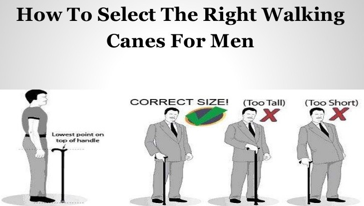 how to select the right height for your walking stick