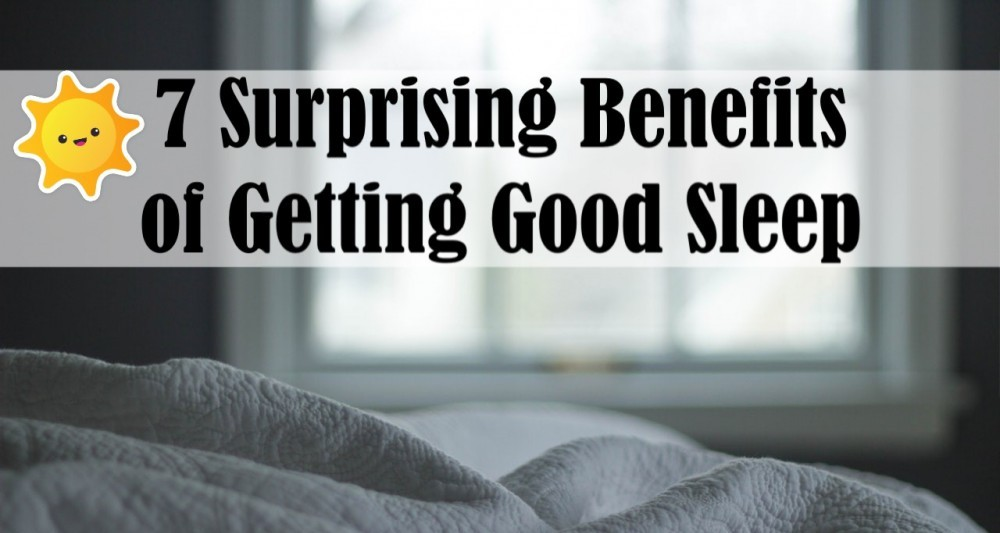 Benefits of Getting a Good Night's Sleep