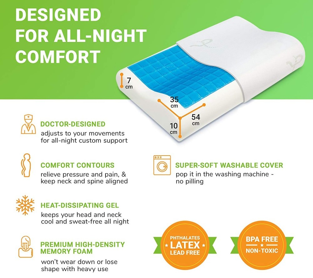 Supportiback Comfort Therapy Orthopedic Pillow