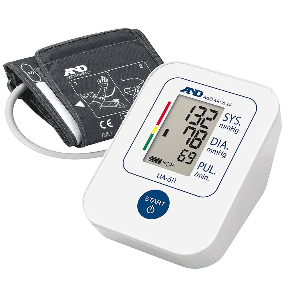 A & D Medical UA-611 Upper Arm Blood Pressure Monitor