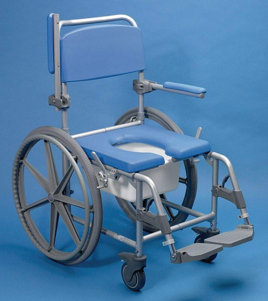 Days Self Propelled Wheeled Shower Commode Chair
