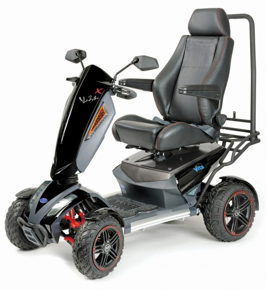 TGA Mobility Vita X Deluxe 4 All Terrain Class 3 Mobility Scooter