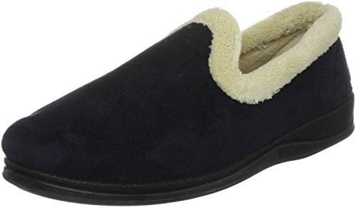 Padders Repose Fleece and Fur Lined Slippers