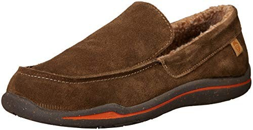 Acorn Men's Ellsworth Suede Moccasin Slipper