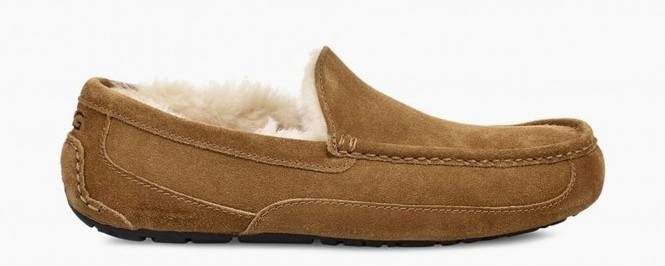 Ugg Men's Ascot Suede Moccasin Slippers