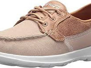 Skechers Women's Go Walk Lite - Coral Boat Shoes