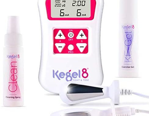 Kegel exerciser to prevent urinary incontinence in women