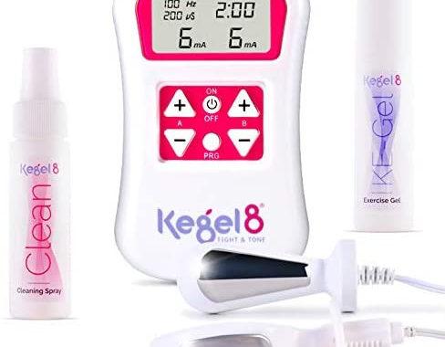 Kegel exerciser to prevent urinary incontinence in women