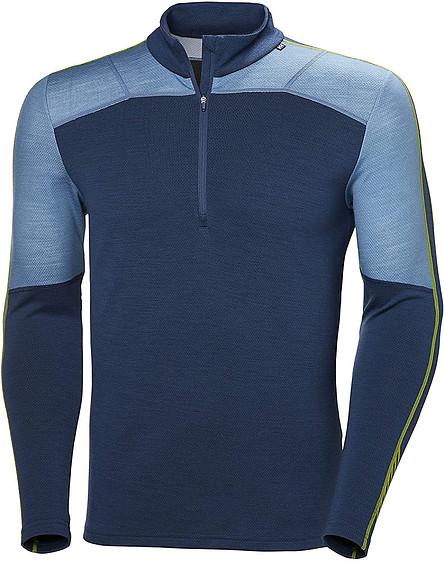 Helly Hansen Men's Lifa Merino 1/2 Zip Baselayer Longsleeve T-Shirt