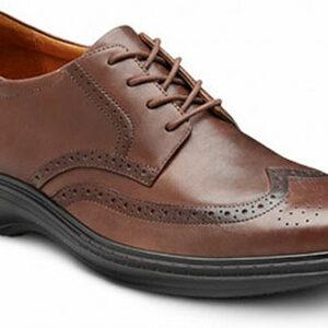 Dr. Comfort Wing Men's Therapeutic Diabetic Extra Depth Dress Shoes - Best Diabetic Shoes for Men