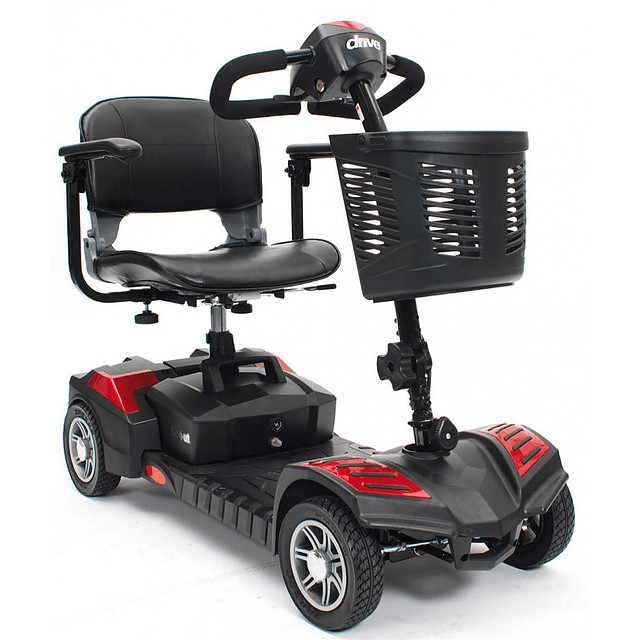 Drive Medical Scout 4 Wheel Lightweight Mobility Scooter